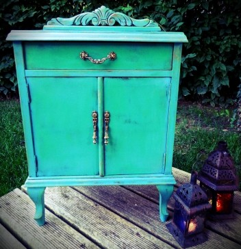 Charming Muebles Vintage Vintage Style Antique Vintage Furniture Vintage  Paintedfurniture Paintingfurniture Refurbished Teal Crafty Furniture